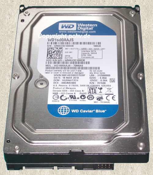 HD-WD1600AAJS-75M0A0-BL